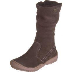 Skórzane kozaki zimowe w kolorze brązowym. Buty zimowe dziewczęce Zimowe obuwie dla dzieci. W wyprzedaży za 155.95 zł.