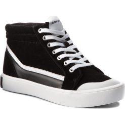 Trampki CALVIN KLEIN JEANS - Dione S1765 Black/White/Black. Czarne trampki męskie Calvin Klein Jeans, z gumy. Za 619.00 zł.