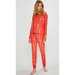 Chelsea Peers - Piżama. Szare piżamy damskie Chelsea Peers, z dzianiny. W wyprzedaży za 139.90 zł.