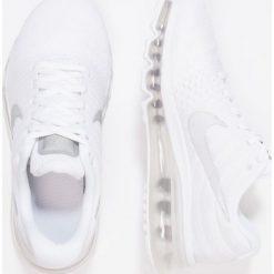 Nike Performance AIR MAX 2017 BG Obuwie do biegania treningowe white/metallic silver. Buty sportowe chłopięce Nike Performance, z materiału. Za 609.00 zł.