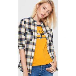 Koszula w kratę - Kremowy. Koszule damskie marki SOLOGNAC. W wyprzedaży za 19.99 zł.
