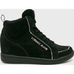 Versace Jeans - Buty. Czarne obuwie sportowe damskie Versace Jeans, z jeansu. W wyprzedaży za 699.90 zł.