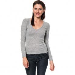 Sweter w kolorze szarym. Szare swetry damskie Assuili, z kaszmiru. W wyprzedaży za 136.95 zł.