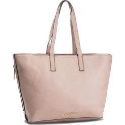Torebka CALVIN KLEIN - Drive Shopper K60K604460 007. Brązowe torebki shopper damskie Calvin Klein, ze skóry ekologicznej. Za 699.00 zł.