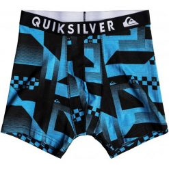 Quiksilver Bokserki Męskie Boxer Pack M Bxbr Ast Assorted S. Szare bielizna termoaktywna męska Quiksilver, z bawełny. Za 145.00 zł.