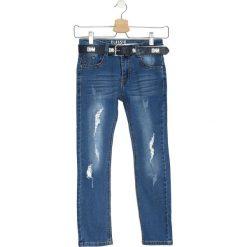 Niebieskie Jeansy Either Way. Jeansy dla dziewczynek marki bonprix. Za 19.99 zł.