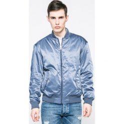 Calvin Klein Jeans - Kurtka bomber. Szare kurtki męskie Calvin Klein Jeans, z jeansu. W wyprzedaży za 399.90 zł.