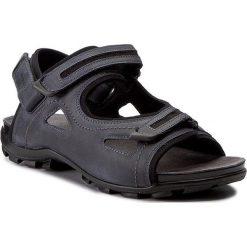 Sandały WOJAS - 7300-56 Granat/Czarny. Niebieskie sandały męskie Wojas, z materiału. W wyprzedaży za 219.00 zł.