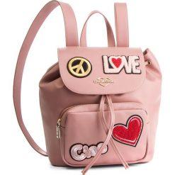 Plecak LOVE MOSCHINO - JC4082PP17LJ0600 Rosa. Czerwone plecaki damskie Love Moschino, ze skóry ekologicznej, eleganckie. Za 959.00 zł.