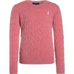 Polo Ralph Lauren CABLE Sweter victorian rose heather. Swetry dla dziewczynek Polo Ralph Lauren, z kaszmiru, polo. W wyprzedaży za 399.20 zł.