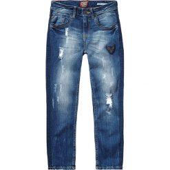 """Dżinsy """"Cleo"""" w kolorze niebieskim. Jeansy dla dziewczynek marki bonprix. W wyprzedaży za 99.95 zł."""
