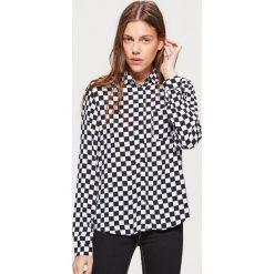 Koszula w szachownicę - Czarny. Koszule damskie marki SOLOGNAC. W wyprzedaży za 39.99 zł.