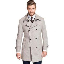 Płaszcz OLIVIERO PSEE000011. Brązowe płaszcze męskie Giacomo Conti, na jesień, z materiału. Za 799.00 zł.