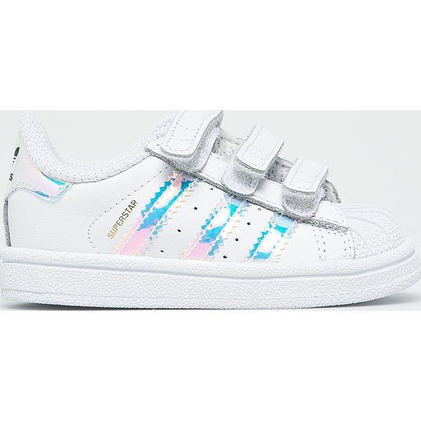 aef3cc9f2474de adidas Originals - Buty dziecięce Superstar Cf I - Buty sportowe ...
