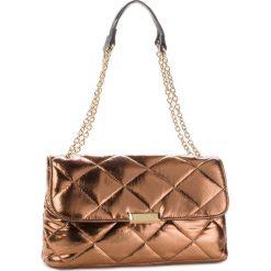 Torebka TWINSET - Tracolla OA8TBR Bronzo Lamin 03115. Brązowe torebki do ręki damskie Twinset, z materiału. Za 629.00 zł.