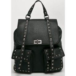 Answear - Plecak. Czarne plecaki damskie ANSWEAR. Za 149.90 zł.