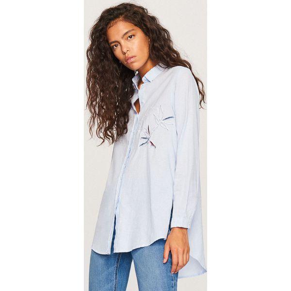 93bbe3da35 Koszula oversize - Niebieski - Koszule damskie marki Reserved. W ...