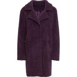 """Płaszcz """"baranek"""" bonprix lila. Płaszcze damskie marki FOUGANZA. Za 219.99 zł."""