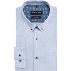 Koszula MICHELE KDWE000358. Niebieskie koszule męskie Giacomo Conti, z bawełny, button down, z długim rękawem. Za 259.00 zł.