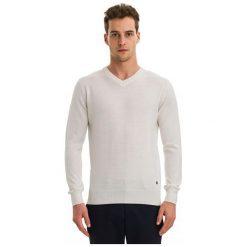 Galvanni Sweter Męski Wodonga L Kremowy. Białe swetry przez głowę męskie Galvanni, z wełny. W wyprzedaży za 269.00 zł.