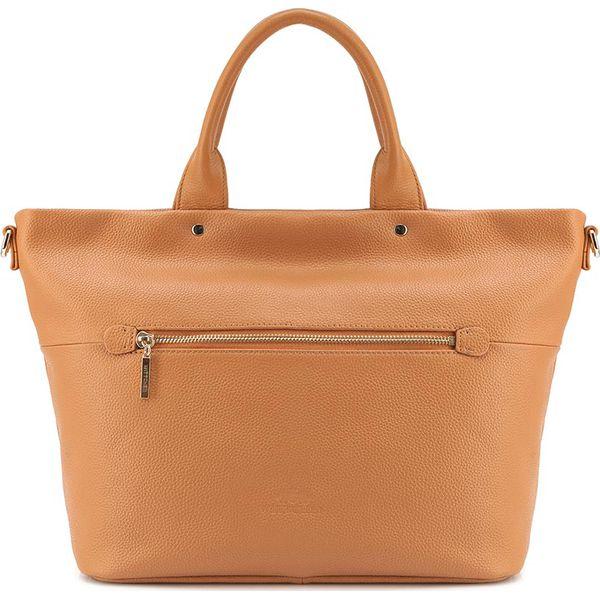 0db0c87732fd5 Torebka damska 84-4E-201-8 - Brązowe torebki do ręki damskie marki ...