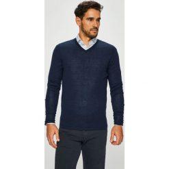 S. Oliver - Sweter. Czarne swetry przez głowę męskie s.Oliver BLACK LABEL, z dzianiny. W wyprzedaży za 179.90 zł.