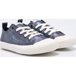 Pepe Jeans - Tenisówki dziecięce. Buty sportowe dziewczęce Pepe Jeans, z jeansu. W wyprzedaży za 219.90 zł.