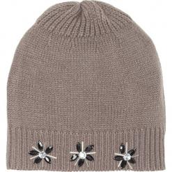 Czapka bonprix szary. Szare czapki i kapelusze damskie bonprix. Za 44.99 zł.