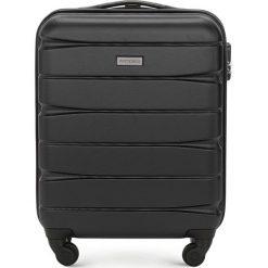 Walizka kabinowa 56-3A-361-10. Czarne walizki damskie Wittchen. Za 149.00 zł.