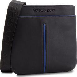 Saszetka VERSACE JEANS - E1YSBB40  70767 899. Czarne saszetki męskie Versace Jeans, z jeansu, młodzieżowe. Za 419.00 zł.