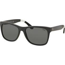 Polo Ralph Lauren - Okulary. Szare okulary przeciwsłoneczne męskie Polo Ralph Lauren, z acetatu. Za 549.90 zł.
