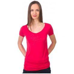 Pepe Jeans T-Shirt Damski Kate S Czerwony. Czerwone t-shirty damskie Pepe Jeans, z jeansu. W wyprzedaży za 94.00 zł.