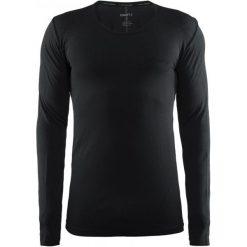 Craft Koszulka Męska Active Comfort Ls Czarna L. Czarne koszulki sportowe męskie Craft, z długim rękawem. Za 129.00 zł.