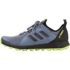 Adidas Performance TERREX AGRAVIC SPEED  Obuwie hikingowe dark blue. Buty sportowe męskie adidas Performance, z materiału, outdoorowe. W wyprzedaży za 389.35 zł.