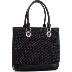 Torebka MONNARI - BAG9060-020 Black. Czarne torebki do ręki damskie Monnari, ze skóry ekologicznej. W wyprzedaży za 199.00 zł.