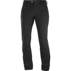 Salomon Spodnie Softshellowe Damskie Wayfarer Warm Pant W Black 42/R. Czarne spodnie sportowe damskie Salomon. Za 375.00 zł.