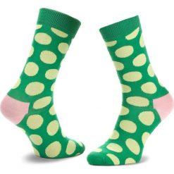 Skarpety Wysokie Unisex HAPPY SOCKS - BDO01-7001 Zielony. Skarpety damskie Happy Socks, z bawełny. Za 34.90 zł.