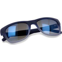 Okulary przeciwsłoneczne BOSS - 0249/S Qwoblue. Niebieskie okulary przeciwsłoneczne damskie Boss, z tworzywa sztucznego. W wyprzedaży za 429.00 zł.