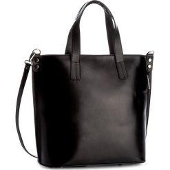 Torebka CREOLE - K10351  Czarny. Czarne torebki do ręki damskie Creole, ze skóry. Za 329.00 zł.