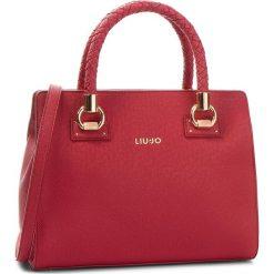 Torebka LIU JO - M Satchel Manhattan N68100 E0087 Red 91656. Czerwone torebki do ręki damskie Liu Jo, ze skóry ekologicznej. Za 689.00 zł.