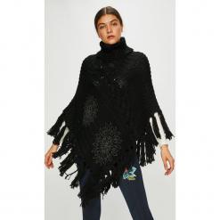 Desigual - Sweter. Czarne swetry damskie Desigual, z dzianiny. Za 399.90 zł.