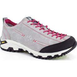 Skórzane buty trekkingowe w kolorze szarym. Trekkingi damskie marki ROCKRIDER. W wyprzedaży za 318.95 zł.