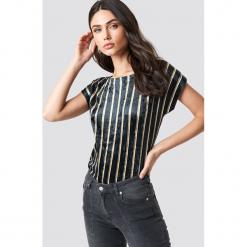 Sparkz T-shirt Ruby - Navy. Niebieskie t-shirty damskie Sparkz, z okrągłym kołnierzem. Za 181.95 zł.