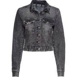 Czarne kurtki damskie bonprix Kolekcja zima 2020