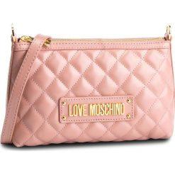 Torebka LOVE MOSCHINO - JC4009PP17LA0600  Rosa. Czerwone listonoszki damskie Love Moschino, ze skóry ekologicznej. Za 589.00 zł.