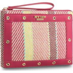 Torebka MY TWIN - Pochette Piatta RS8TFE  Mul. Silk 02385. Różowe torebki do ręki damskie My Twin, z materiału. W wyprzedaży za 269.00 zł.