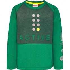 """Bluza """"Sebastian 610"""" w kolorze zielonym. Zielone bluzy dla chłopców marki Lego Wear Fashion. W wyprzedaży za 82.95 zł."""