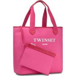 Torebka TWINSET - Shopping AS8PNA Bambola 00682. Czerwone torebki do ręki damskie Twinset. W wyprzedaży za 259.00 zł.