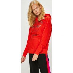 Mustang - Bluza. Różowe bluzy damskie Mustang, z nadrukiem, z bawełny. W wyprzedaży za 179.90 zł.