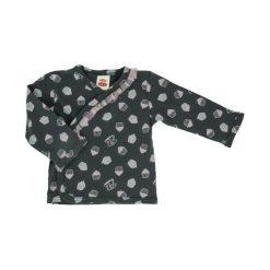 Makoma Koszulka Dziewczęca Cupcakes 56 Szara. Szare bluzki dla dziewczynek Makoma, z bawełny. Za 35.00 zł.